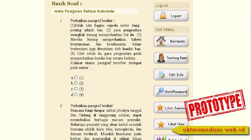 proto &y BankSoal3