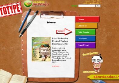 Web Company Profile Event Organizer Sahabat Pustaka Purwokerto (2011, status: Offline)